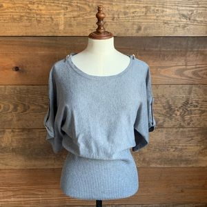 NWOT Spense Brand Gray Sweater